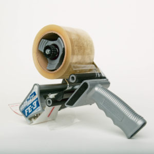 Tape dispenser for specialized tape products