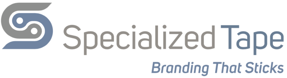 Specialized Tape logo Branding that sticks