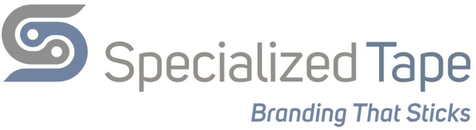 Specialized Tape logo Branding that sticks