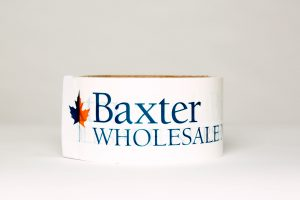 Baxter Wholesale logo tape