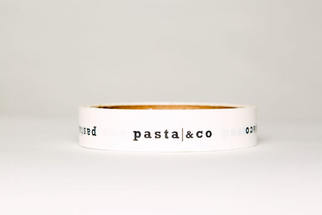 Pasta & Co logo tape