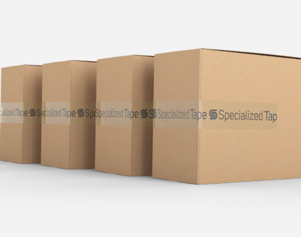 Specialized Tape Logo on Carton: