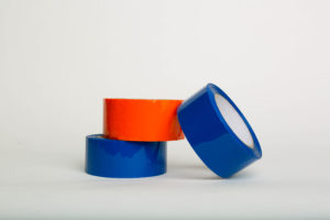 Non-Printed Tape/Hot Melt or Acrylic Adhesive