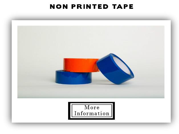 Non Printed Tape