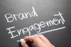47941243 - hand writing brand engagement topic on chalkboard